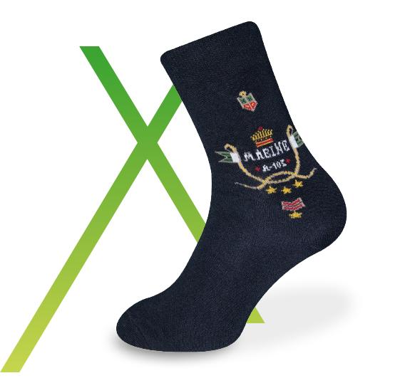 bestickte Socken